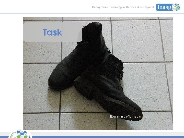Task Eponimm, Wikimedia