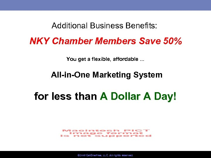 Additional Business Benefits: NKY Chamber Members Save 50% You get a flexible, affordable. .