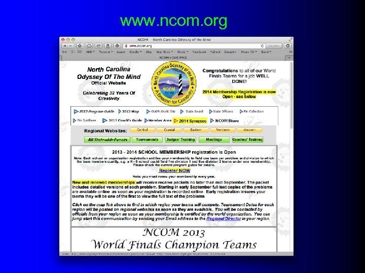 www. ncom. org
