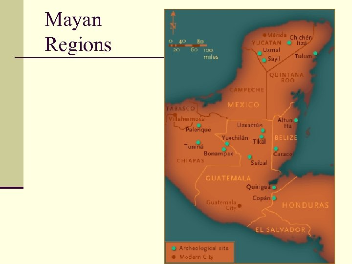 Mayan Regions