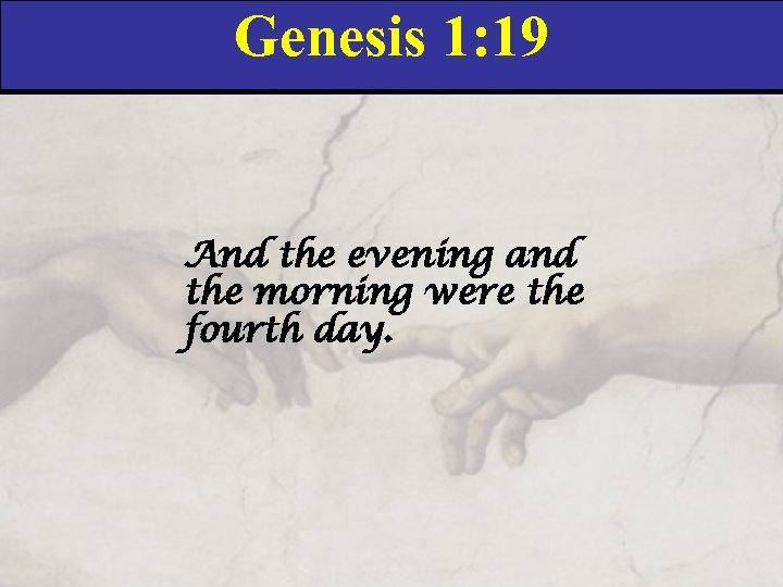 Genesis Introduction Genesis Chapter 1 Union Church Bible