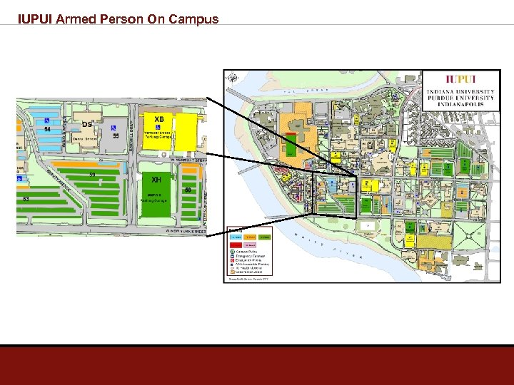 IUPUI Armed Person On Campus
