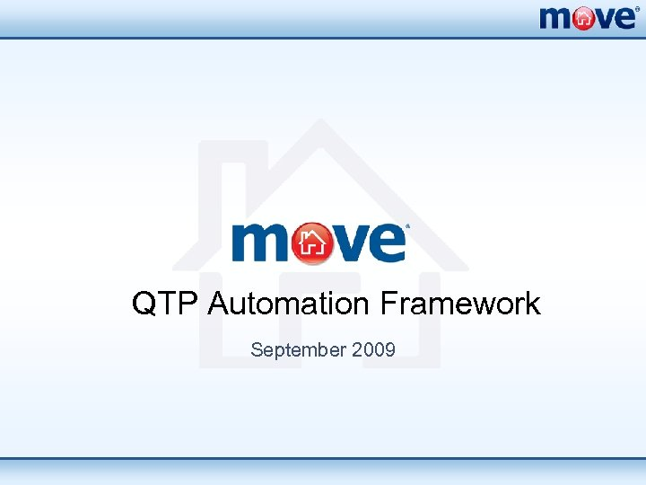 QTP Automation Framework September 2009