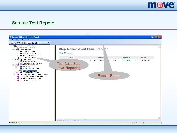 Sample Test Report Test Case Step Level Reporting Results Report