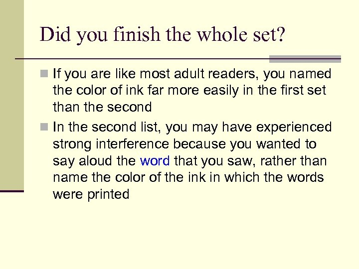 Did you finish the whole set? n If you are like most adult readers,
