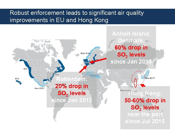 Robust enforcement leads to significant air quality improvements in EU and Hong Kong Anholt