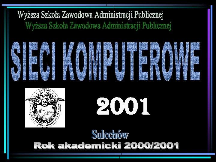 1 2001