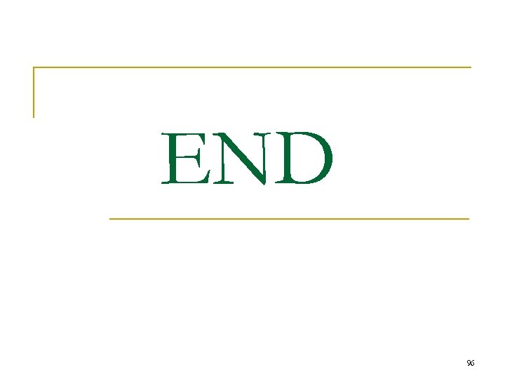 END 96
