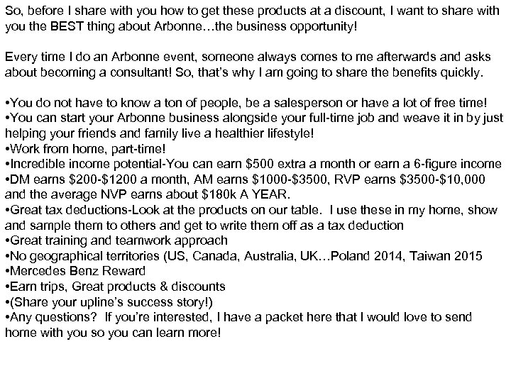 So, before I share with you how to get these products at a discount,