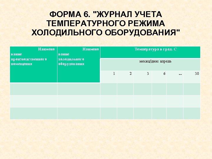 ФОРМА 6.