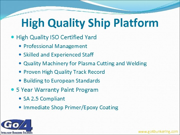 High Quality Ship Platform High Quality ISO Certified Yard Professional Management Skilled and Experienced