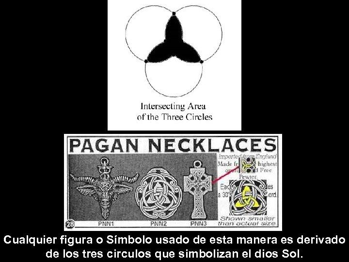 Cualquier figura o Símbolo usado de esta manera es derivado de los tres circulos