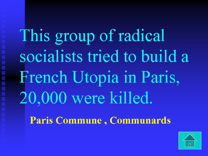 This group of radical socialists tried to build a French Utopia in Paris, 20,