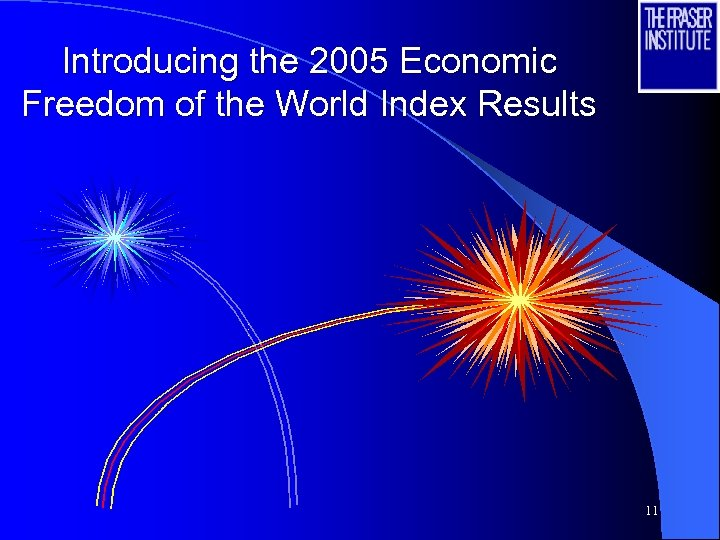 Introducing the 2005 Economic Freedom of the World Index Results 11