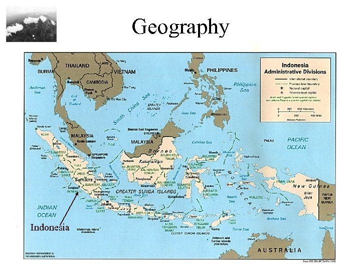 Geography Indonesia CIA Factbook