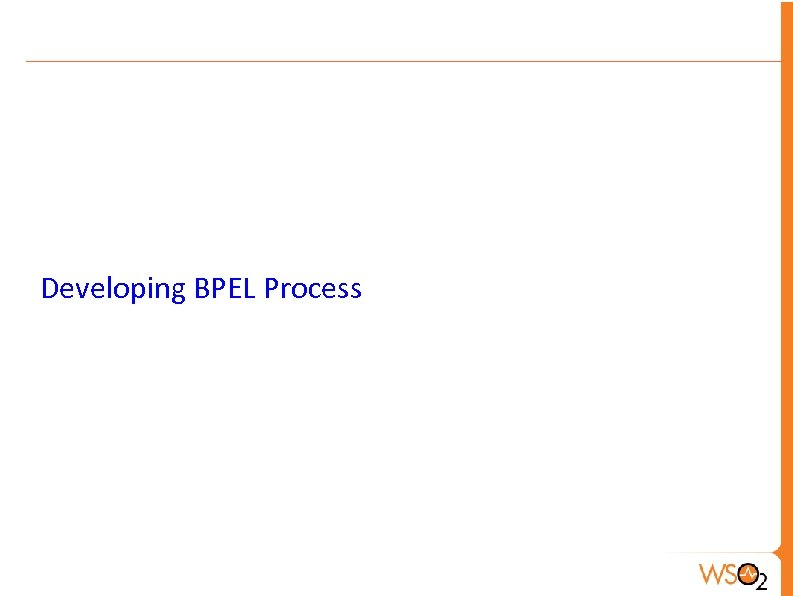 Developing BPEL Process