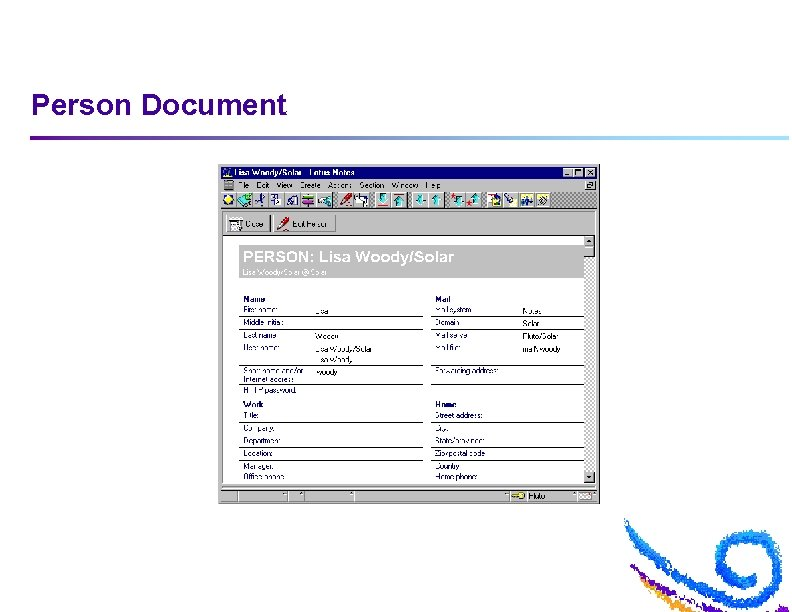 Person Document