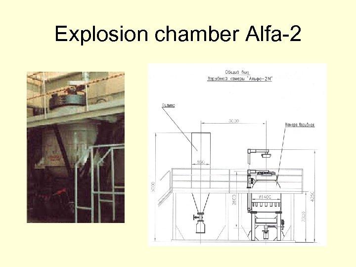 Explosion chamber Alfa-2