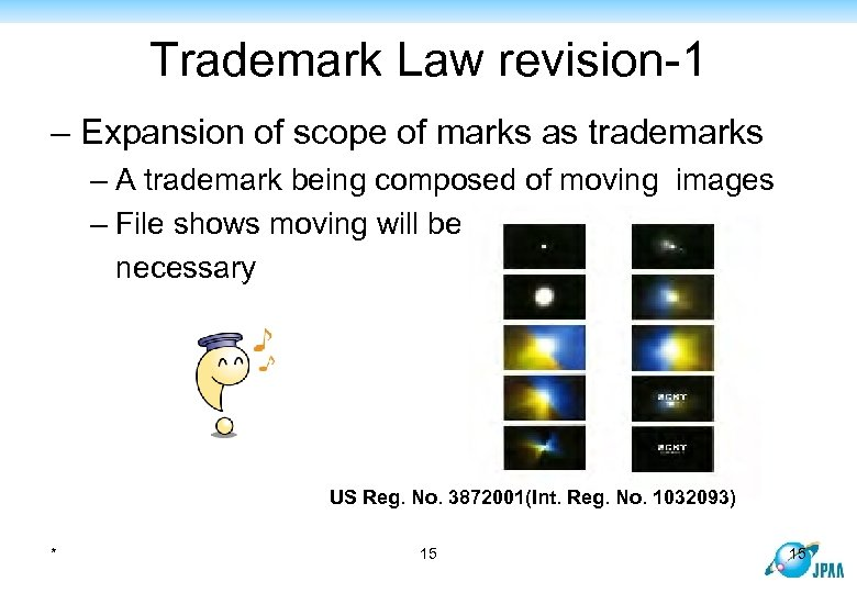 Trademark Law revision-1 – Expansion of scope of marks as trademarks – A trademark
