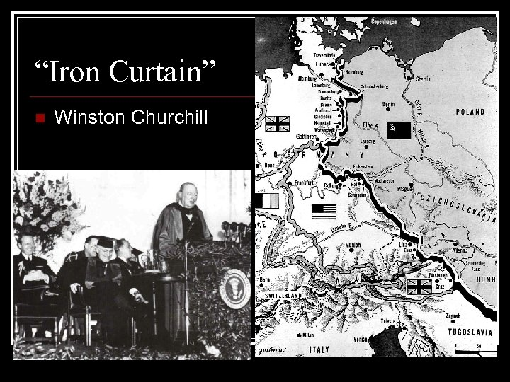 """Iron Curtain"" n Winston Churchill"