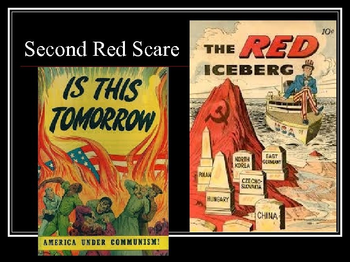 Second Red Scare