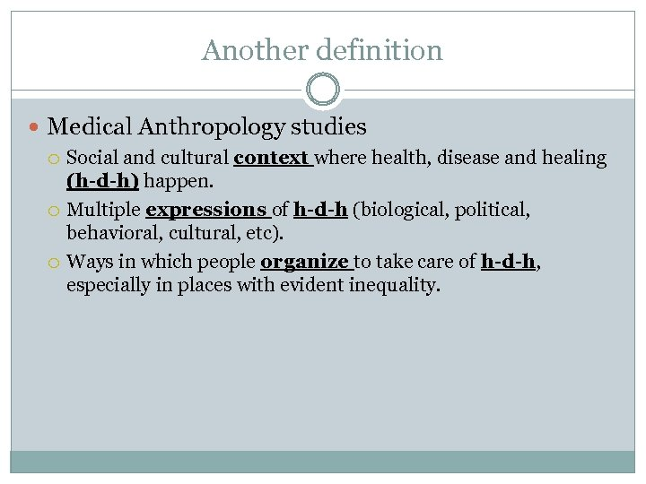 social and cultural context definition