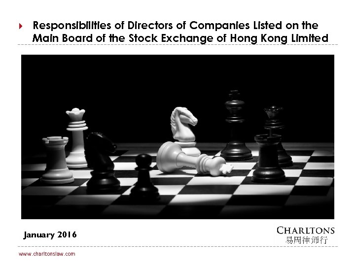 Responsibilities of Directors of Companies Listed on the Main Board of the Stock
