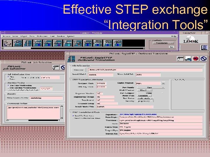 "Effective STEP exchange ""Integration Tools"""