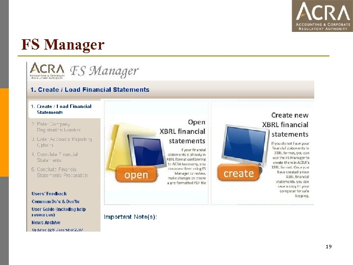 FS Manager 19