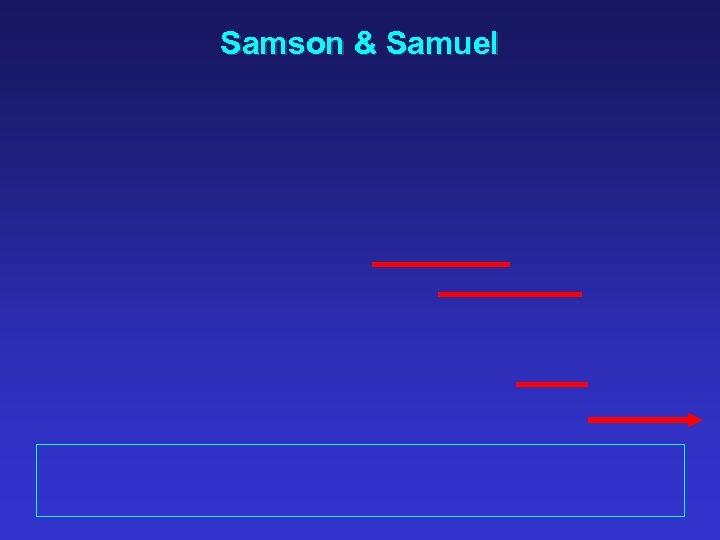 Samson & Samuel