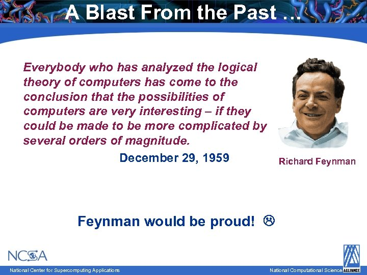 A Blast From the Past … Everybody who has analyzed the logical theory of