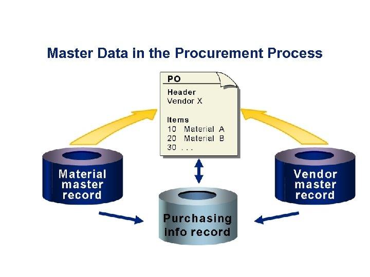 Master Data in the Procurement Process