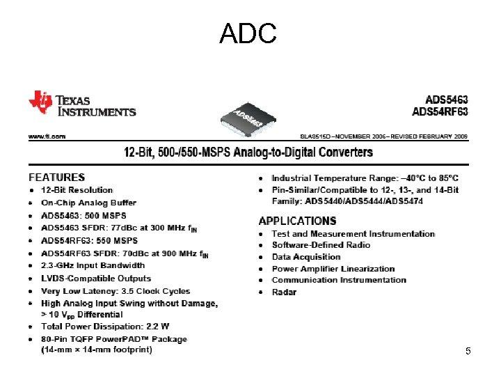 ADC 5