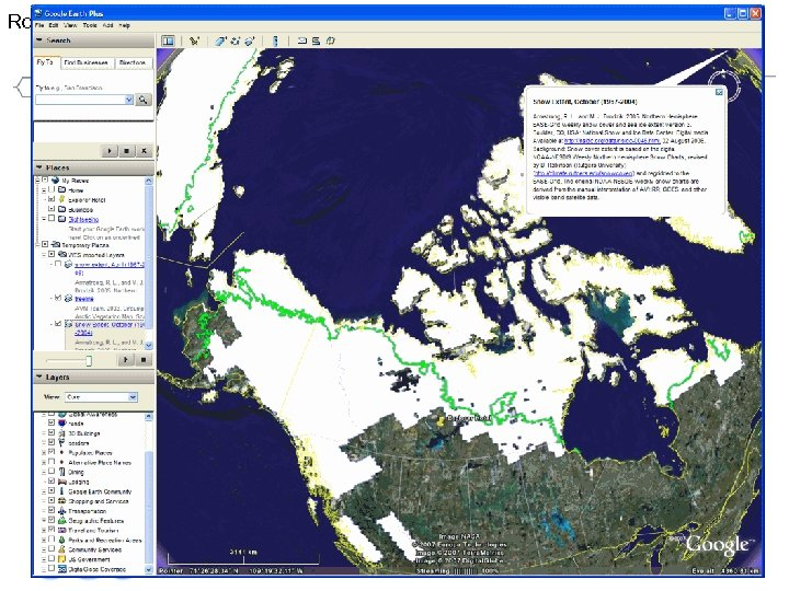 Robert Thomas Demo Compusult screen capture #1 Helping the World to Communicate Geographically