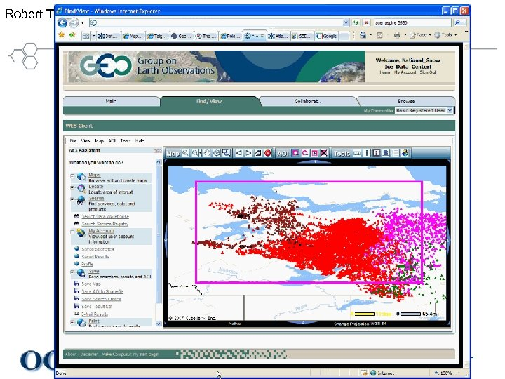 Robert Thomas Demo Compusult screen capture #3 Helping the World to Communicate Geographically