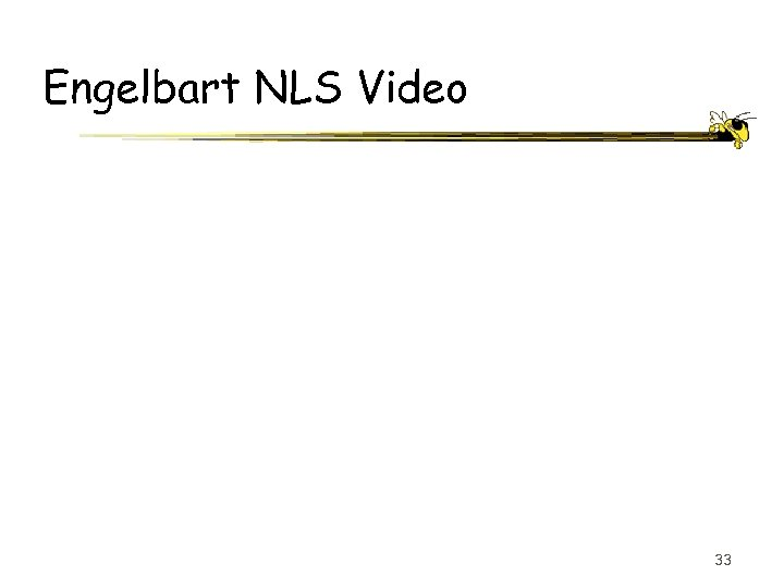 Engelbart NLS Video 33