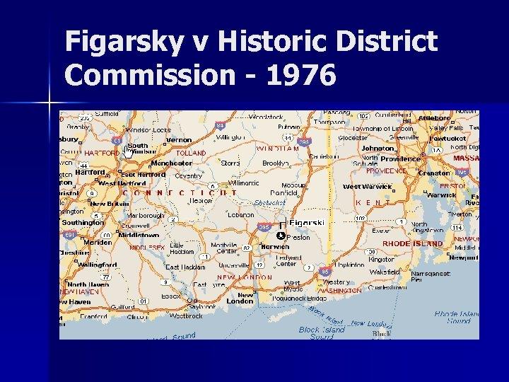 Figarsky v Historic District Commission - 1976