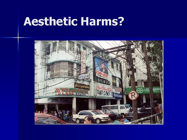 Aesthetic Harms?