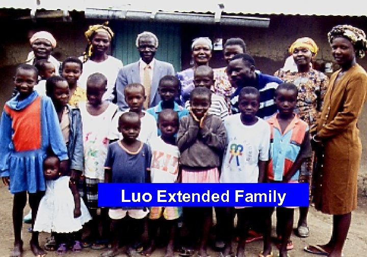 Luo Extended Family