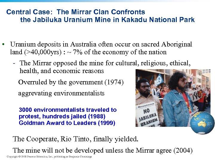 Central Case: The Mirrar Clan Confronts the Jabiluka Uranium Mine in Kakadu National Park