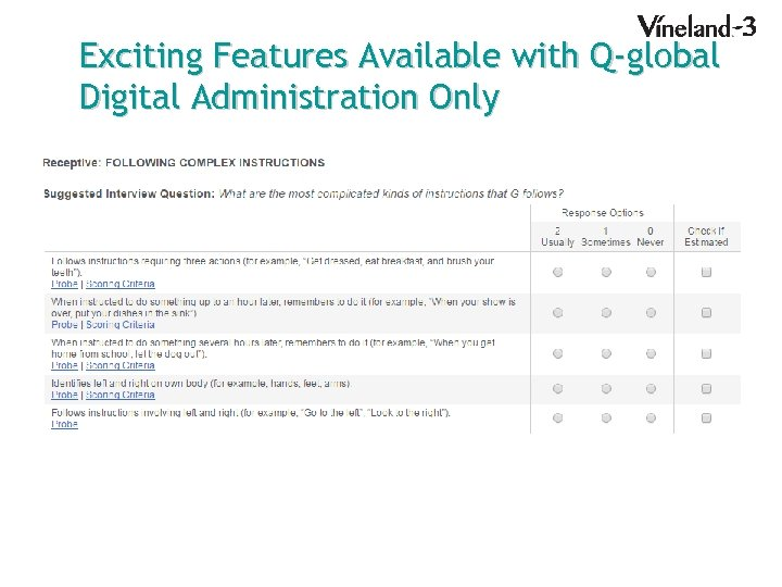 Exciting Features Available with Q-global Digital Administration Only