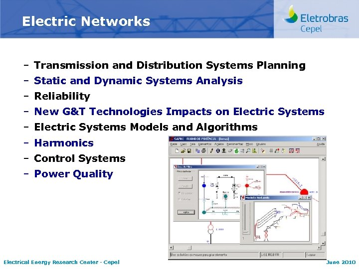 Electric Networks – Transmission and Distribution Systems Planning – Static and Dynamic Systems Analysis