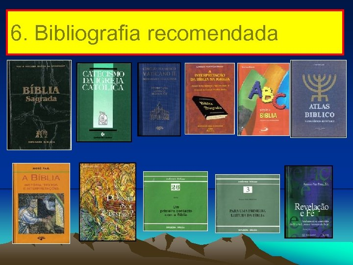 6. Bibliografia recomendada