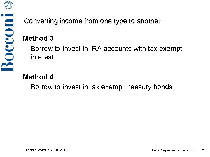 Converting income from one type to another Method 3 Borrow to invest in IRA