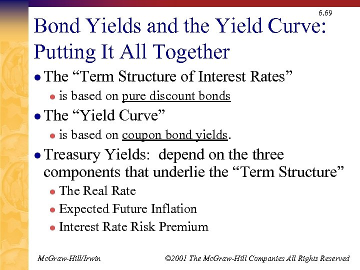 6. 69 Bond Yields and the Yield Curve: Putting It All Together l The
