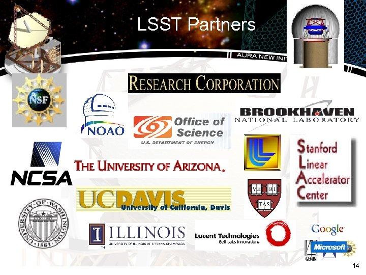 LSST Partners 14
