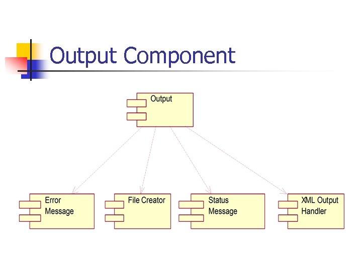 Output Component