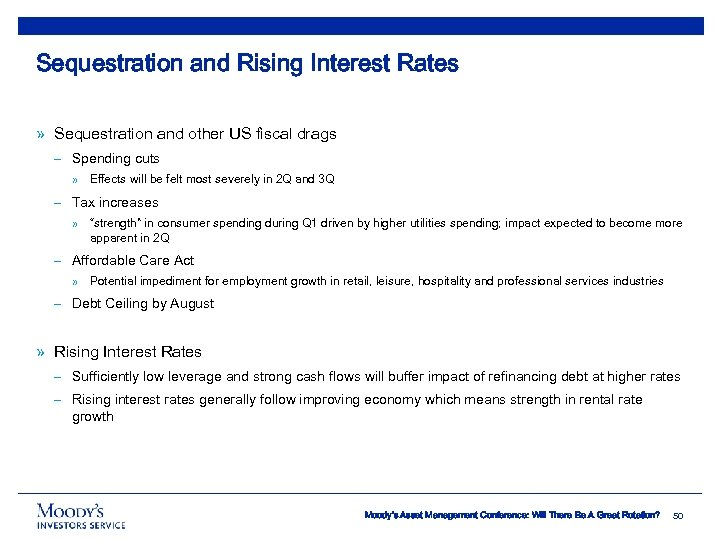 Sequestration and Rising Interest Rates » Sequestration and other US fiscal drags – Spending
