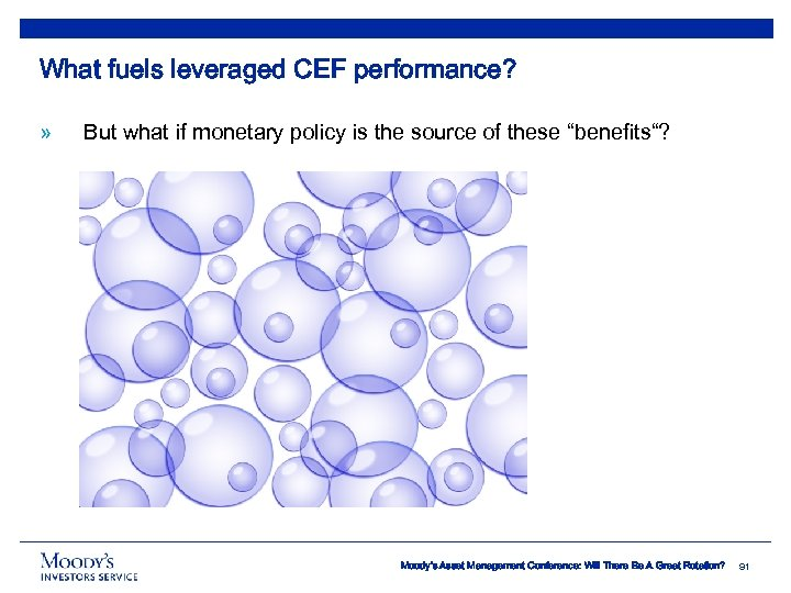 What fuels leveraged CEF performance? » But what if monetary policy is the source