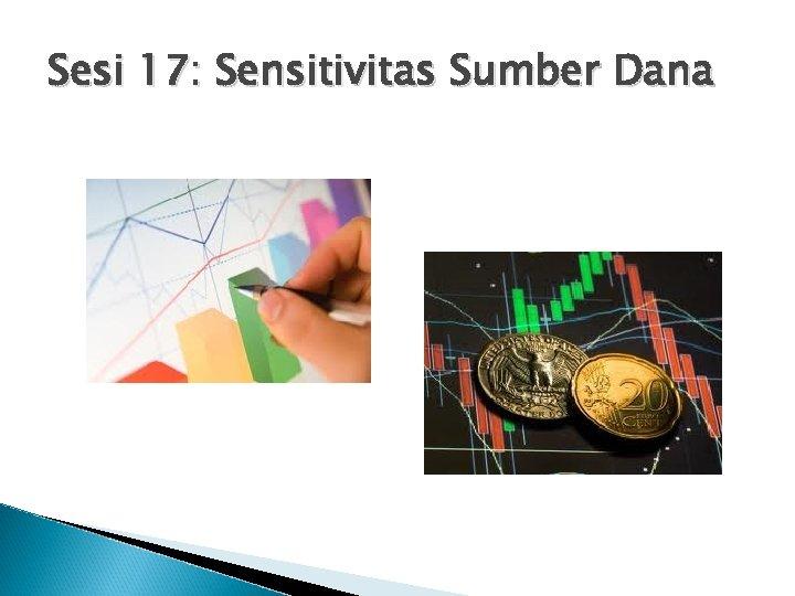 Sesi 17: Sensitivitas Sumber Dana